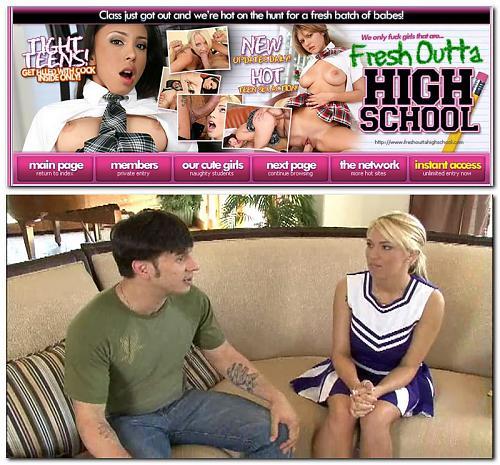 FreshOuttaHighSchool - Cassie Rose