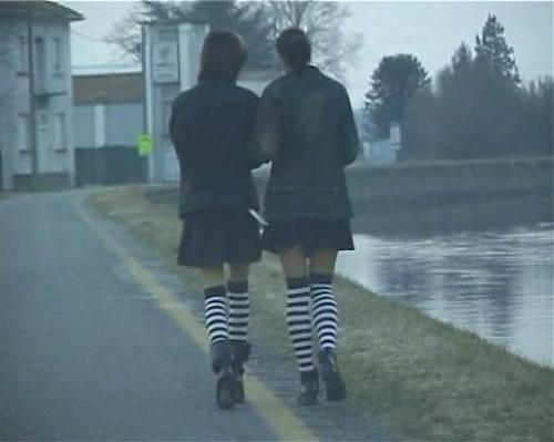Two emo girls