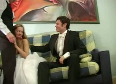 Красивая невеста решила перепихнуться со свидетелем и нарвалась на мужа