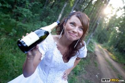 Жестокая групповушка с красивой невестой
