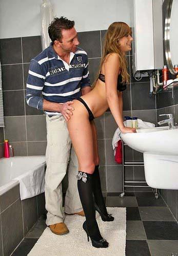Сексуальная русская студентка с длинными ногами