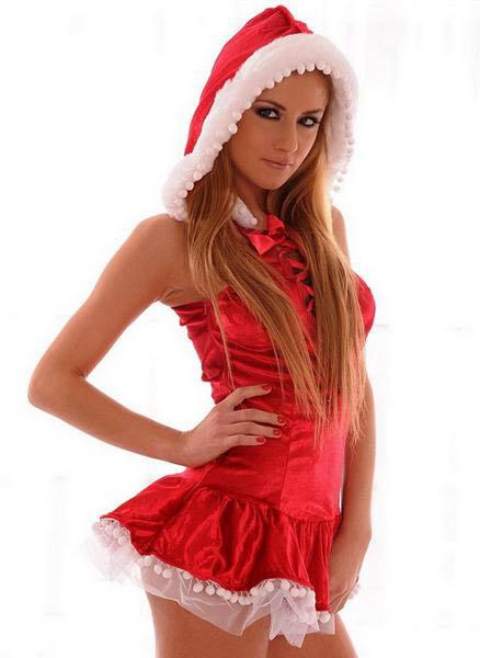 Санта Клаус жарит в попку свою красивую подружку