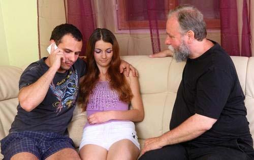 Подружка Нина с батькой замутила...