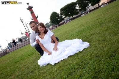Пустил по кругу свою обалденную невесту