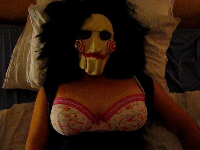 Halloween Sex - My Girlfriend Gets Fucked (POV Homemade)
