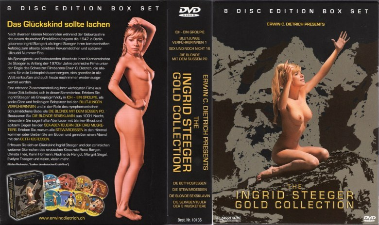 Ingrid Steeger Gold Collection - 8 full DVD-5s