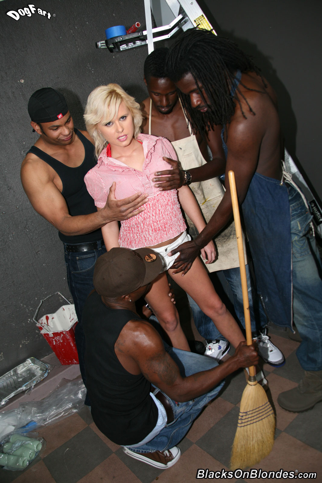 Blacks On Blondes - Kelly Surfer