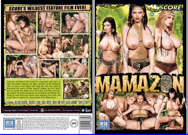 FIX : Mamazon ( 2009 ) - Alexis Silver - Alia Janine - Daylene Rio - Kali West - Rachel Love - Shyla Shy - Alia Janine - Dvd Rip