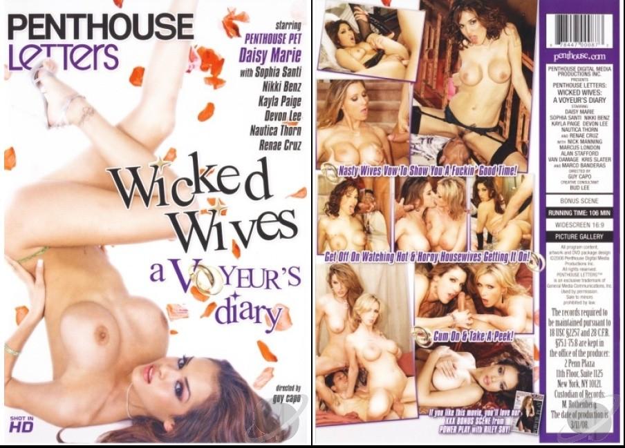 Wicked Wives: A Voyeur's Diary. (Penthouse) Starring: Devon Lee, Nikki Benz, Nautica Thorn, Sophia Santi, Daisy Marie, Renae Cruz & Kayla Paige.   ;o)