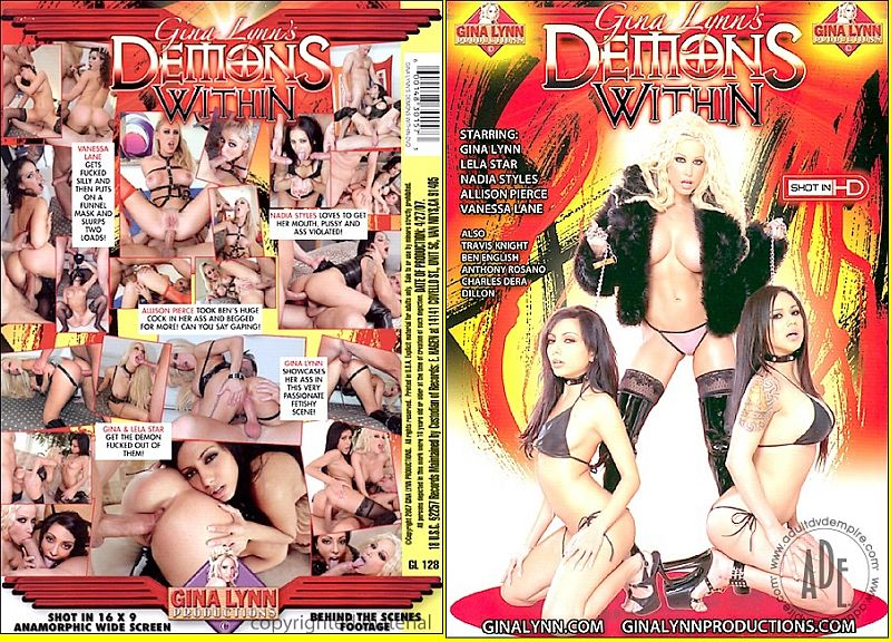 Gina Lynn's Demons Within - (Split Scenes) - Starring: Gina Lynn, Lela Star, Nadia Styles, Vanessa Lane and Allison Pierce
