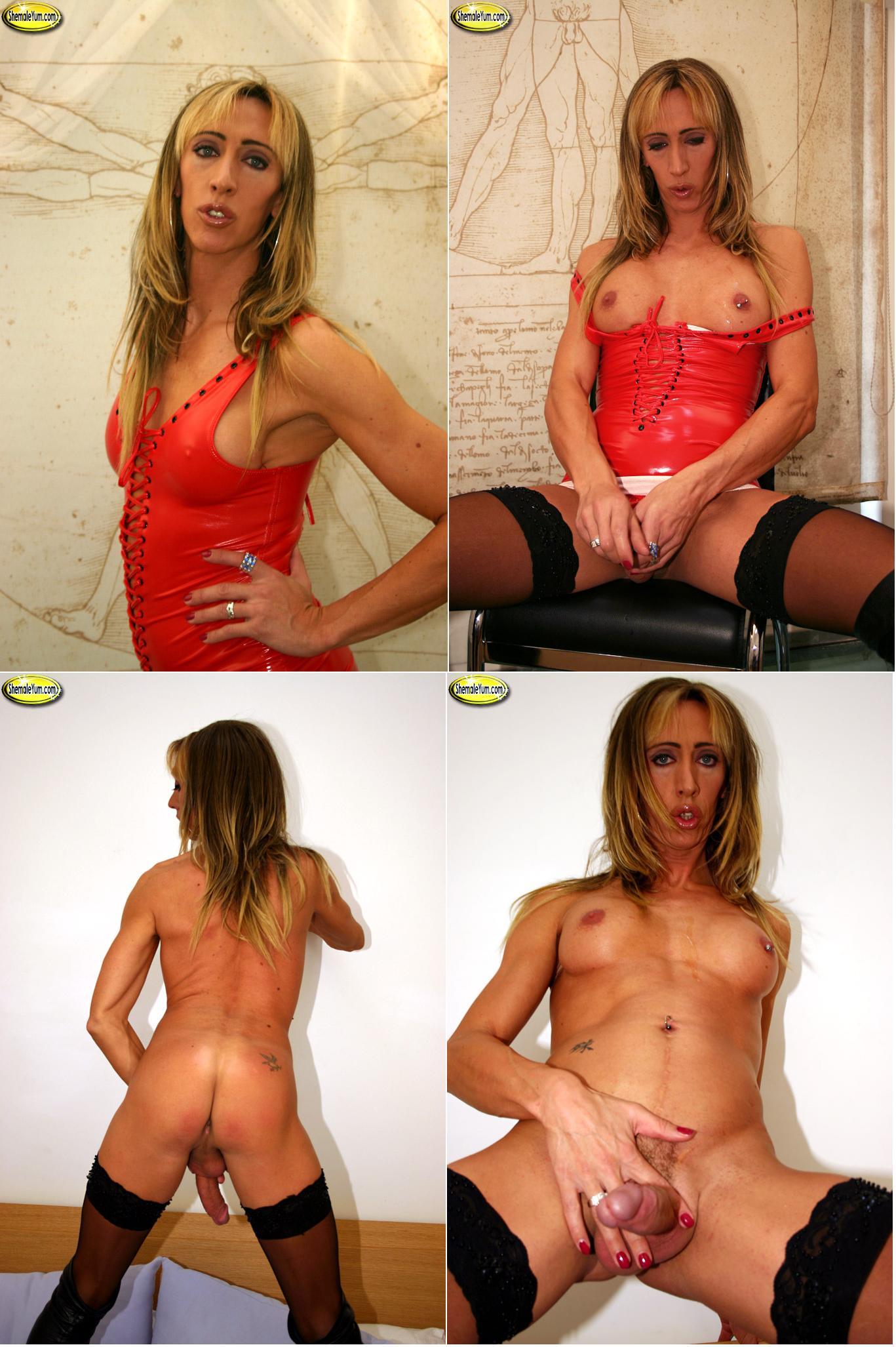 Shemale Yum - Pamela (blonde) - Pamela - Paris - Sammi - Viviana
