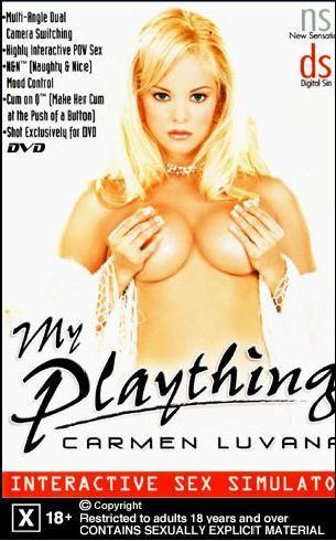 """My Plaything - Carmen Luvana"" Interactive DVD/ISO"