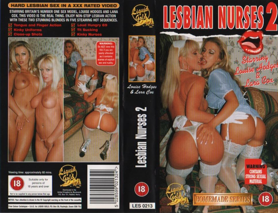 Lesbian Nurses 2 - Louise Hodges & Lana Cox VHS-DVD-DVDrip - Softcore