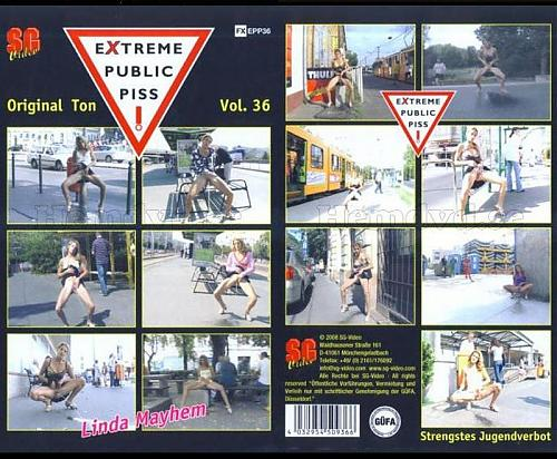 Extreme public piss # 36 (2009) DVDRip